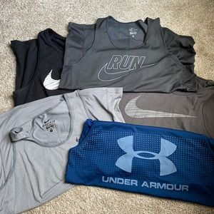 Bundle of 5️⃣ Men's Muscle Shirts